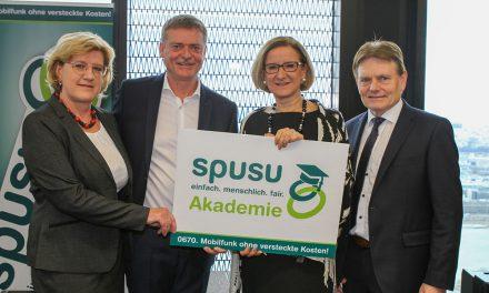 Die spusu Akademie ist nun offiziell eröffnet
