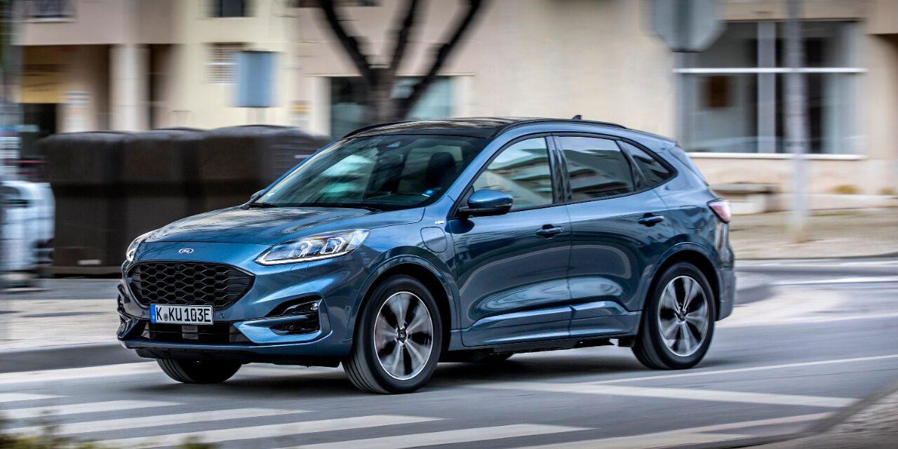 Ford Kuga Plug-In-Hybrid ist Verkaufsschlager europaweit